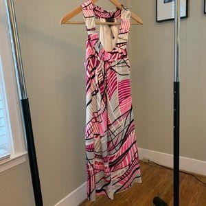 POLECI Silk Dress - Fully Lined - Size 2